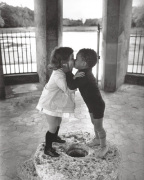 Yasmine et David by Rene Burri