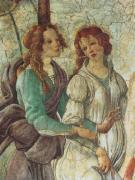 Venus et les Trois Graces (Detail) by Sandro Botticelli
