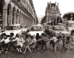 Les tabliers de la rue de Rivoli 1978