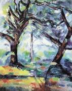 Big Trees by Paul Cezanne