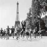 Les jardins du Champ de Mars 1944