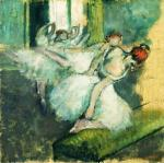 Ballet Dancers About 1890