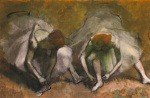 Frieze of Dancers (Detail) by Edgar Degas