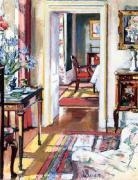 Interior, The Croft House by F.C.B. Cadell