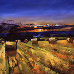Harvest Sunset by Davy Brown