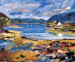 Boats Plockton by Alistair Bennie