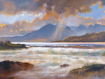 Storm over Arran by Ed Hunter