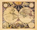 New World Map 1676
