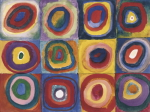 Colour Study - Squares And Concentric