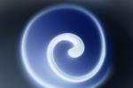 Blue Swirl by Richard Osbourne