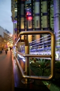 London - Neon Lloyds Building by Richard Osbourne