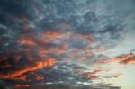 Sunset Clouds III by Richard Osbourne