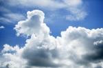 Cumulus Clouds I by Richard Osbourne