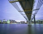 London - Millennium Bridge II by Richard Osbourne
