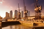 London Docklands And Canary Wharf