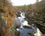 Rogie Falls - Scotland by Richard Osbourne