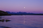 Moonrise Over The Cuillins - Skye