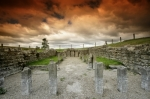Roman Temple - Hadrian's Wall by Richard Osbourne