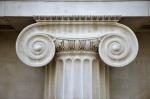 Ionic Column, British Museum by Richard Osbourne