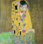 The Kiss (square) by Gustav Klimt