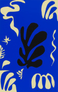 Composition Fond Bleu, 1950 by Henri Matisse