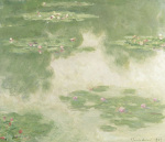 Waterlilies Water Landscape1907
