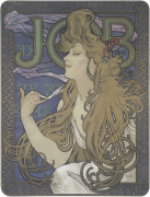 Job, 1897 by Alphonse Mucha