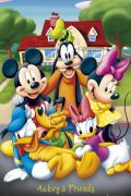 Mickey Mouse and friends by Anonymous