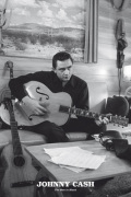 Johnny Cash - Man in black (Guitar) by Anonymous