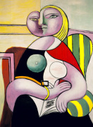 La Lecture (Woman Reading) by Pablo Picasso