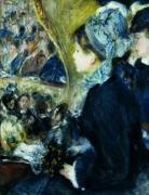 At The Theatre by Pierre Auguste Renoir