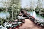 Bridge of Flowers by Diane Romanello