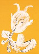 White Faun (Silkscreen print) by Pablo Picasso