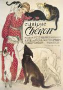 Clinique Cheron by Theophile-Alexandre Steinlen