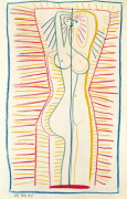 Woman Standing, 1946 by Pablo Picasso