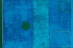 Blue painting (Silkscreen print) by Patrick Heron