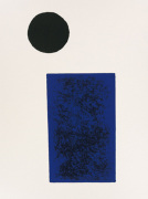 Rectangle and circle, 1915 by Kazimir Malevich