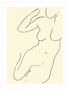 Sirene 1949 (Silkscreen print)