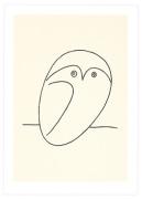 Le hibou (Silkscreen print)