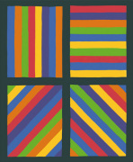 Color Bands in four Directions 1999