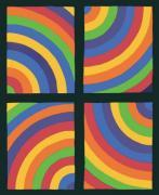 Color Arcs in four Directions 1999