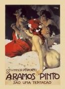 A Ramos Pinto, 1922 by Leopoldo Metlicovitz