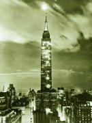 Empire State Night 1936