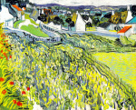 Vineyards at Auvers 1890