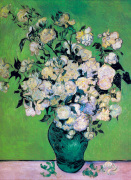 Vase Of Roses by Vincent Van Gogh