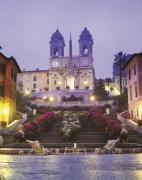 Piazza di Spagna, Rome by John Lawrence