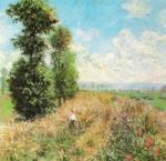 Field with Poppies by Claude Monet