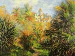 Gardens at Bordighera by Claude Monet