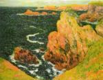 Belle Ile by Claude Monet