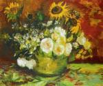Vase of Flowers by Vincent Van Gogh